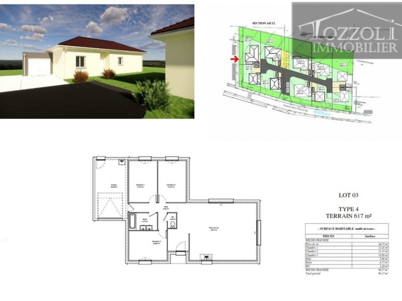 Sale house / villa Rochetoirin 252735,75€ - Picture 4