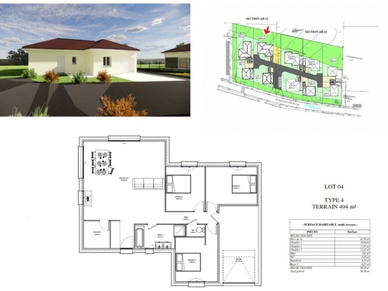 Sale house / villa Rochetoirin 254268€ - Picture 4