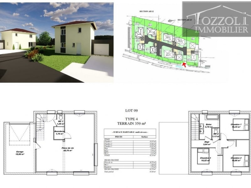 Sale house / villa Rochetoirin 242160€ - Picture 4