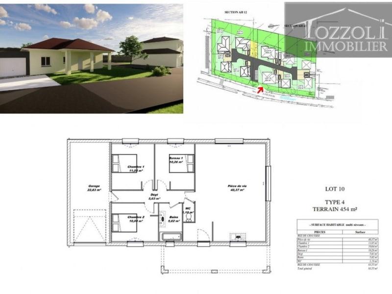 Sale house / villa Rochetoirin 236945,50€ - Picture 4