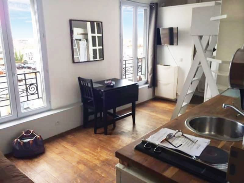 Rental apartment Paris 18ème 640€ CC - Picture 10