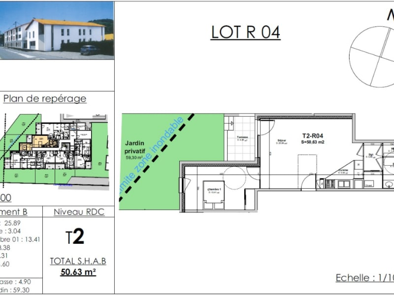 Sale apartment Bourgoin jallieu 164017€ - Picture 4