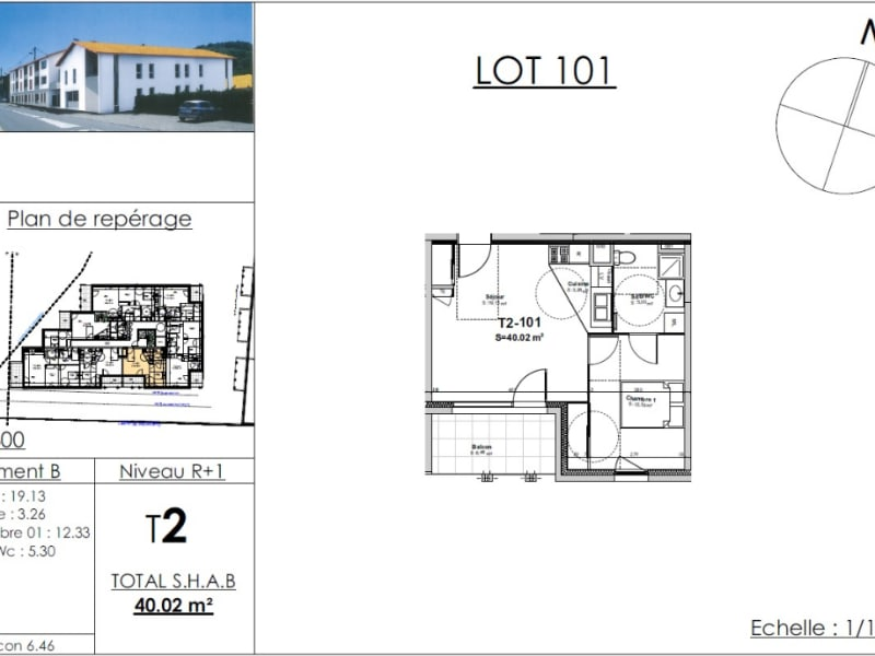 Sale apartment Nivolas vermelle 134940€ - Picture 4