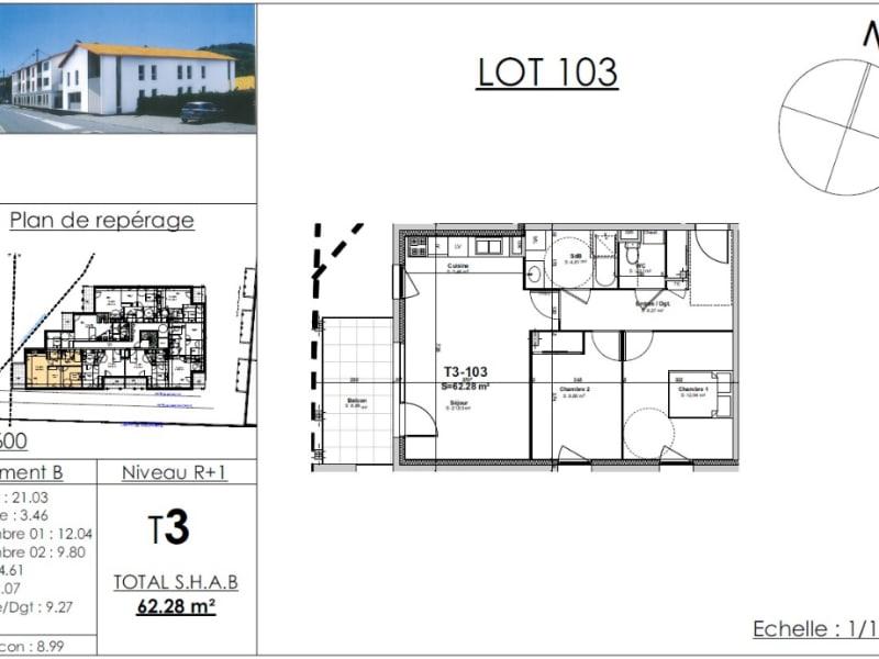 Sale apartment Nivolas vermelle 206335€ - Picture 4
