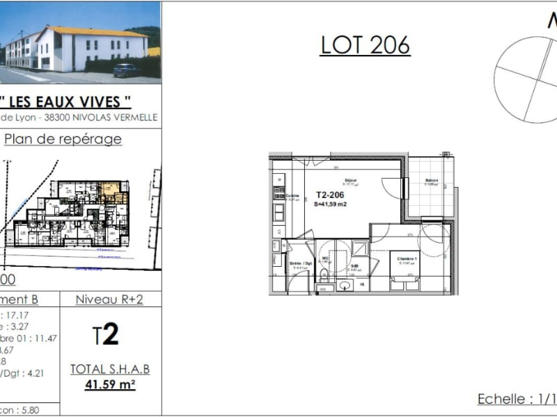 Sale apartment Nivolas vermelle 137474€ - Picture 4