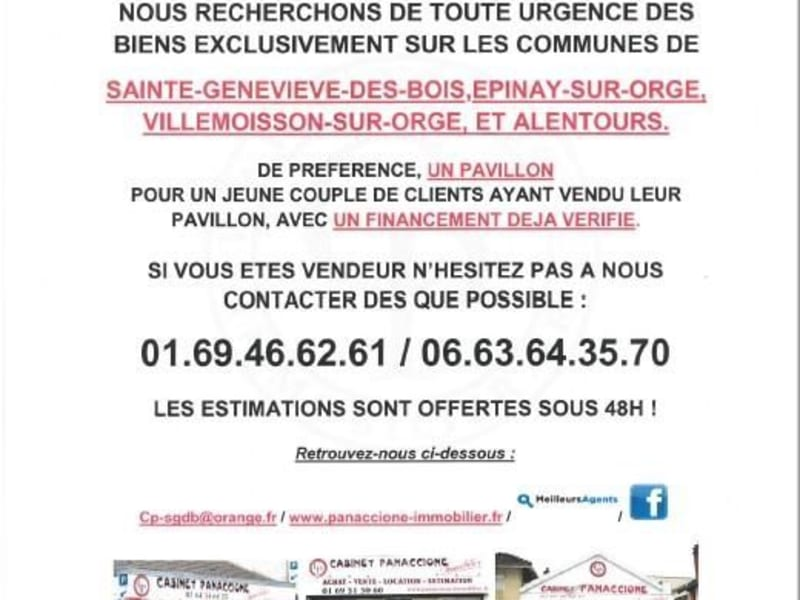 Vendita casa Ste genevieve des bois 369250€ - Fotografia 10