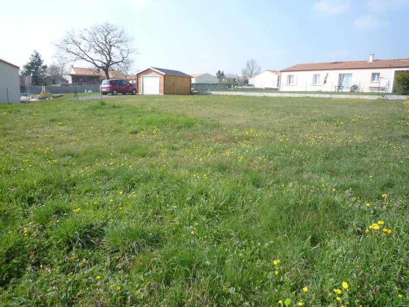 Vente terrain Pamproux 23400€ - Photo 4