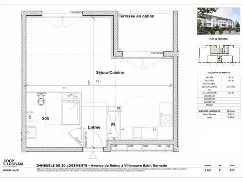 Sale apartment Soissons 96372€ - Picture 4