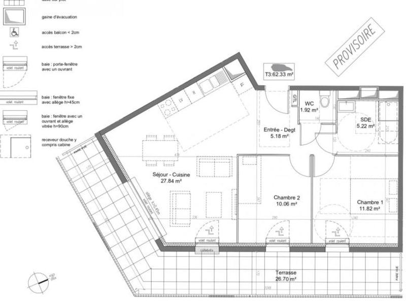 Vente appartement Caen 190000€ - Photo 10