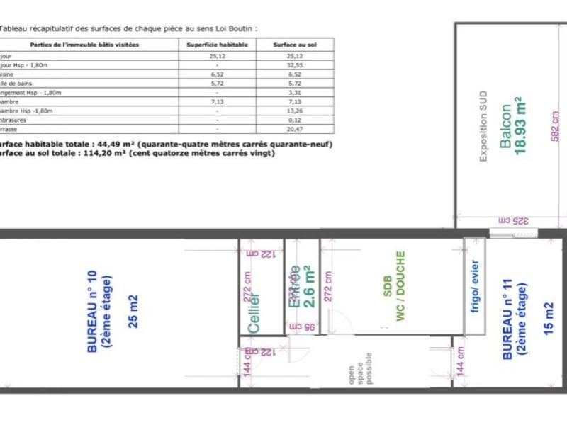 Rental office Bobigny 1100€ HC - Picture 18