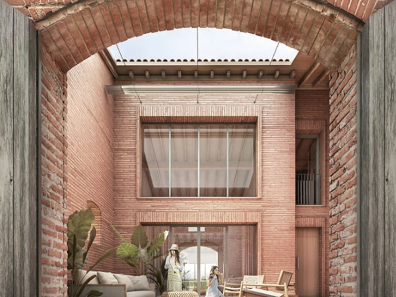 Vente maison / villa Vieille toulouse 747000€ - Photo 8