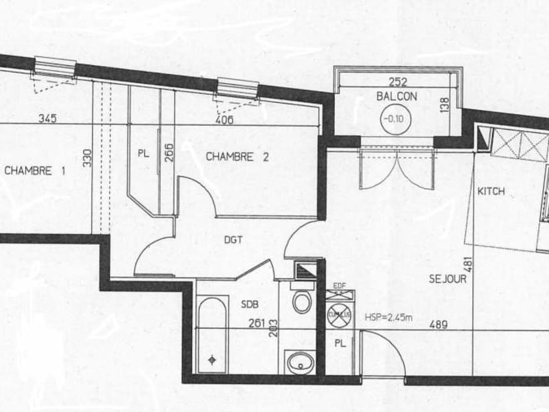 Location appartement Toulouse 607€ CC - Photo 11