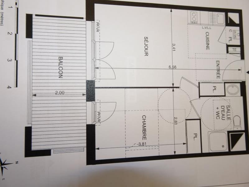 Alquiler  apartamento Mondonville 520€ CC - Fotografía 12