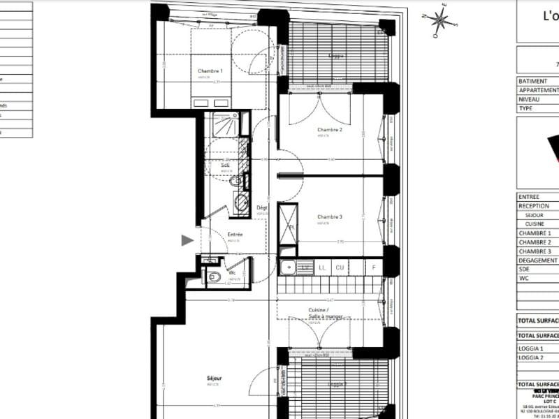 New home sale building Le vesinet  - Picture 14