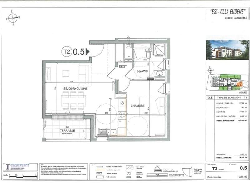 New home sale building St marc sur mer  - Picture 8