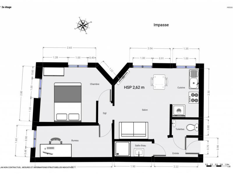 出售 公寓 Paris 15ème 370900€ - 照片 18