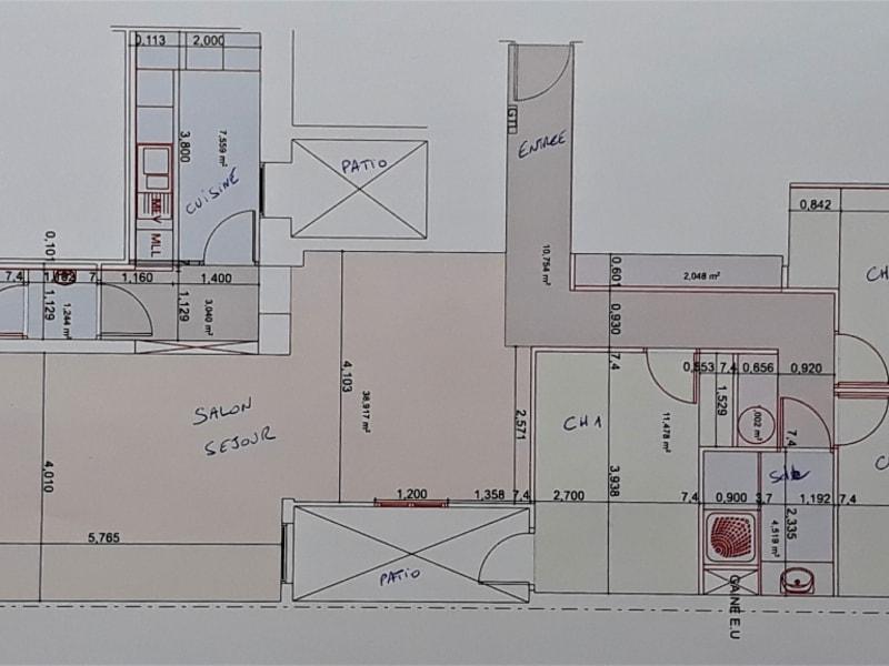 Sale apartment Montpellier 440000€ - Picture 7