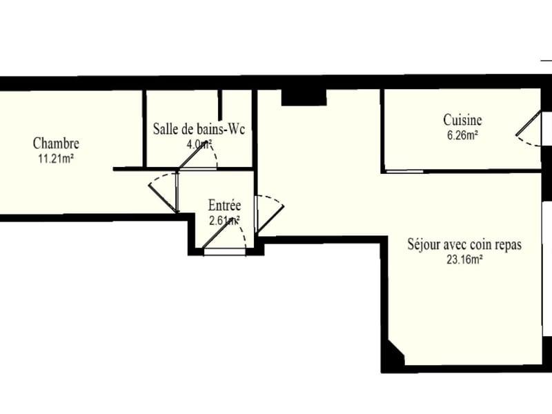 Vente appartement Issy les moulineaux 399000€ - Photo 12