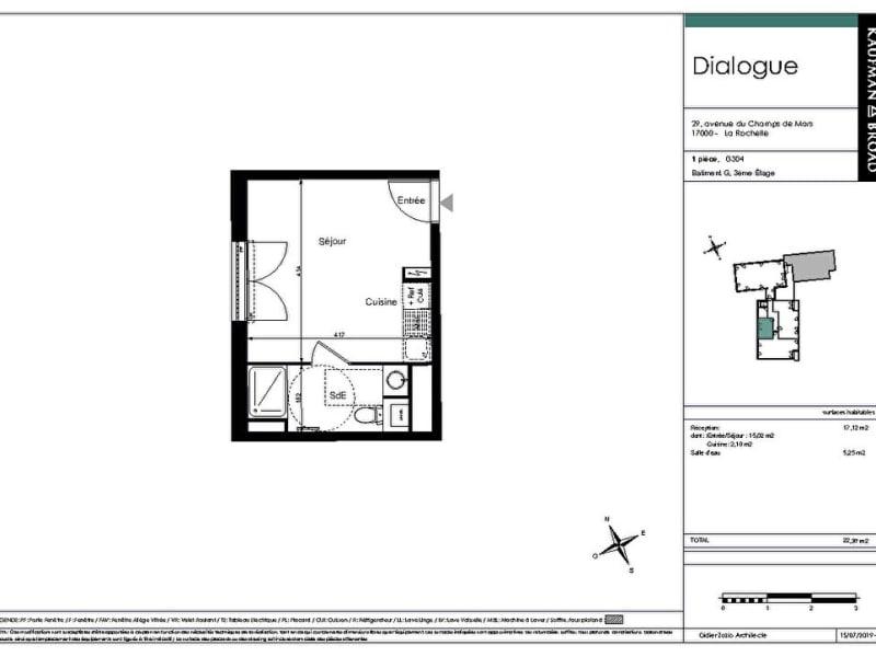 Venta  apartamento La rochelle 202000€ - Fotografía 8