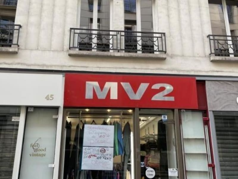 Rental empty room/storage Paris 10ème 833,33€ HC - Picture 3