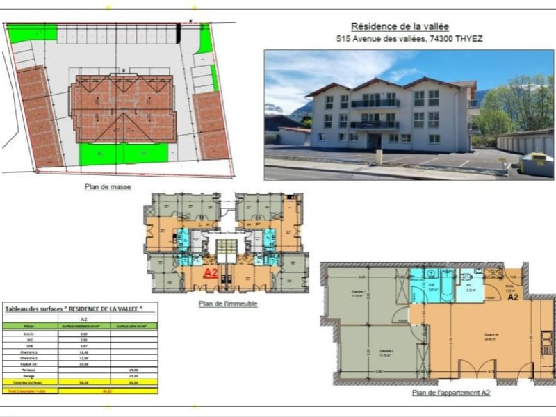Vente appartement Thyez 228000€ - Photo 1