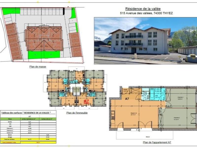 Sale apartment Thyez 213500€ - Picture 1