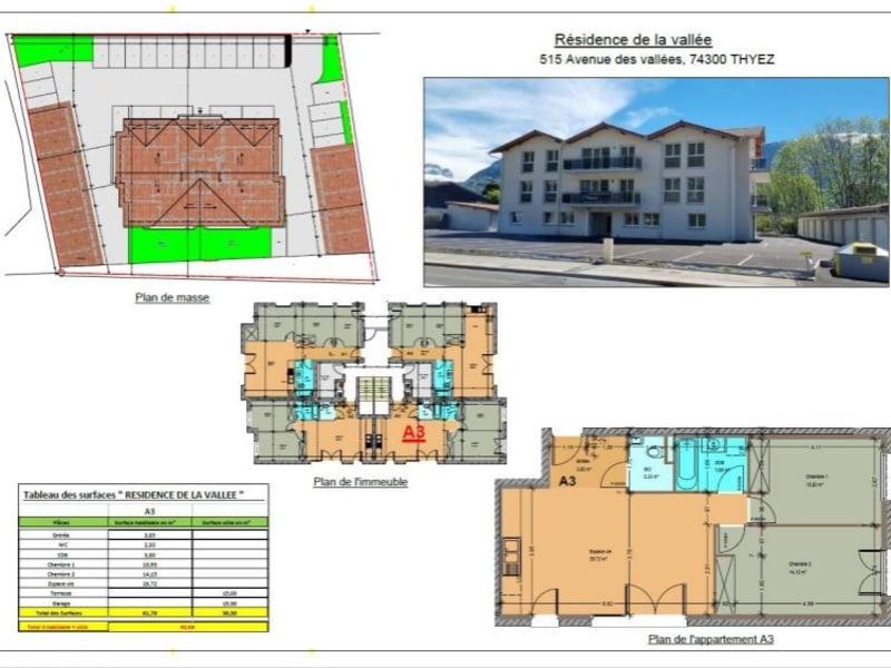 Vente appartement Thyez 238000€ - Photo 1