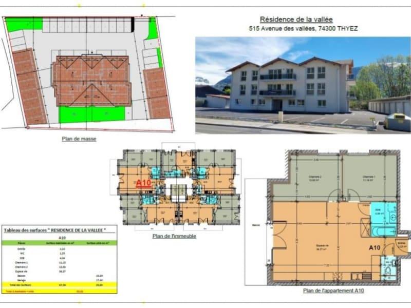Sale apartment Thyez 220000€ - Picture 1