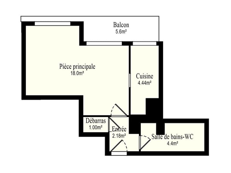 Vente appartement Vanves 266000€ - Photo 14