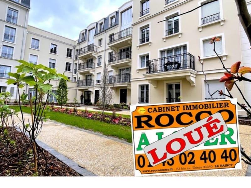 Rental apartment Le raincy 870€ CC - Picture 1