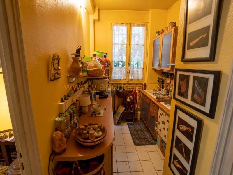 Verkauf auf rentenbasis wohnung Paris 18ème 160000€ - Fotografie 3