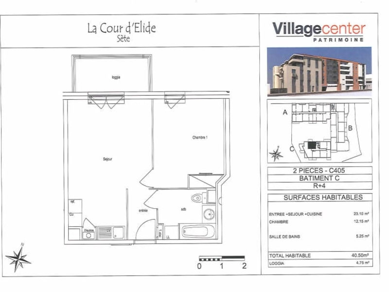 Location appartement Sete 538€ CC - Photo 3