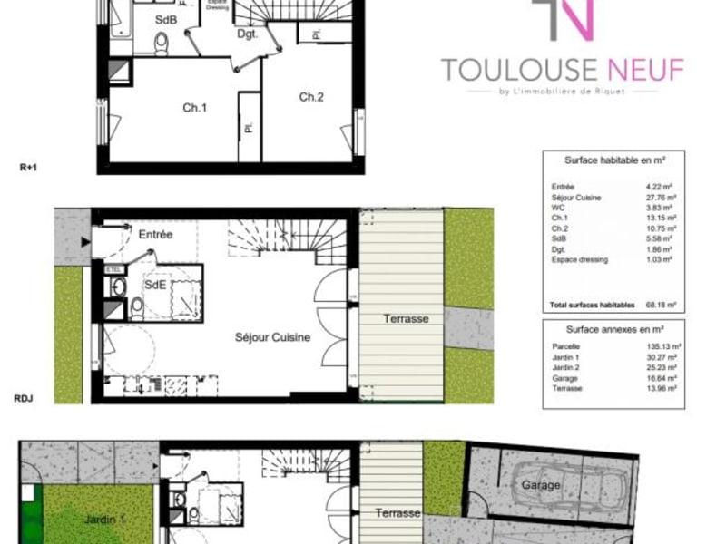 Vente maison / villa Blagnac 269900€ - Photo 8
