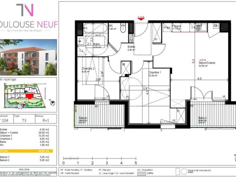 Vente appartement Saint orens de gameville 240000€ - Photo 10
