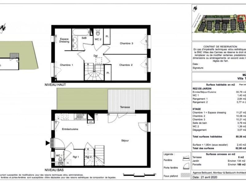 Vente maison / villa Toulouse 342500€ - Photo 10