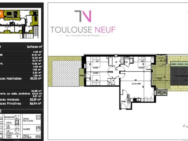 Vente appartement Castanet tolosan 297000€ - Photo 10