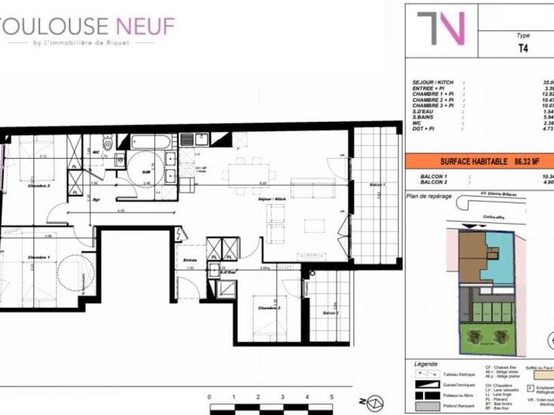 Vente appartement Toulouse 490000€ - Photo 5