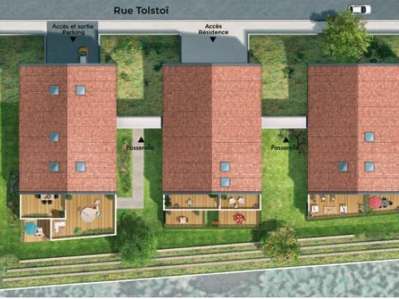 Vente appartement Toulouse 441000€ - Photo 7