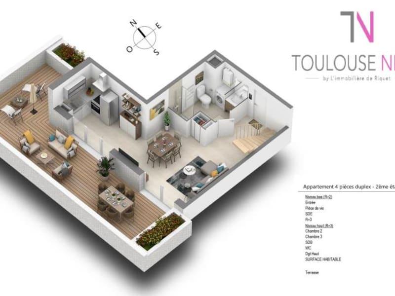 Vente appartement Toulouse 384000€ - Photo 7