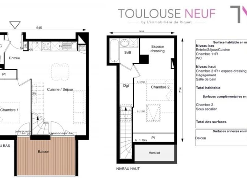 Vente appartement Toulouse 279900€ - Photo 10