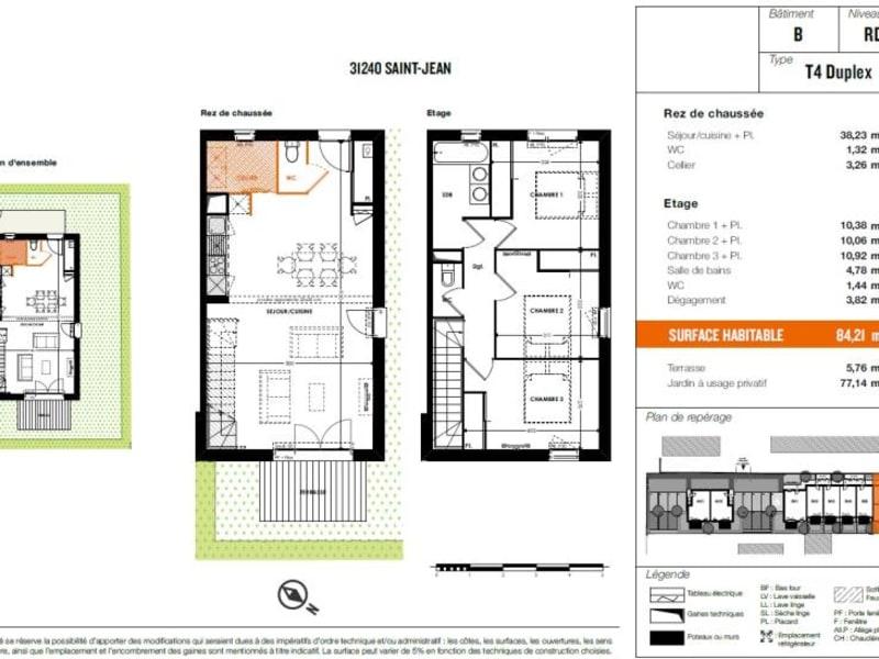 Vente appartement Saint jean 309000€ - Photo 4