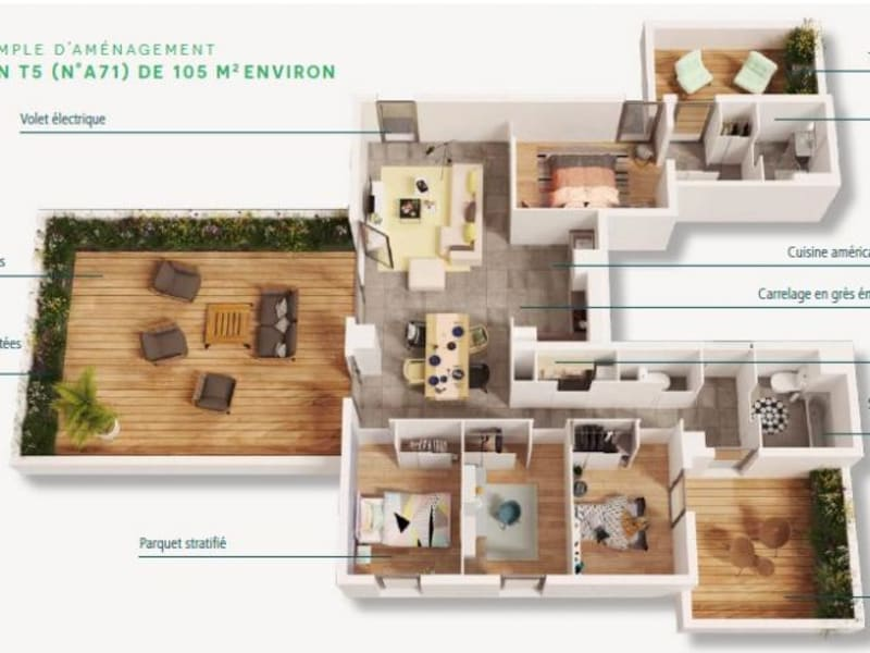 Vente appartement Toulouse 330000€ - Photo 3