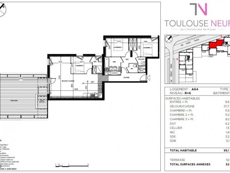 Vente appartement Toulouse 330000€ - Photo 4