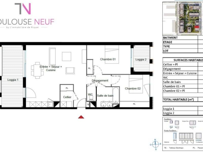 Vente appartement Toulouse 231900€ - Photo 8