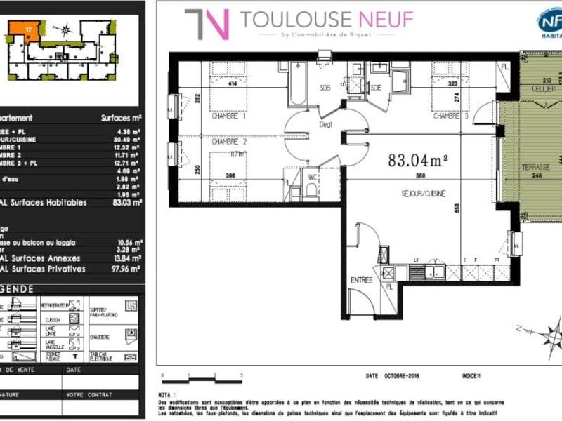 Vente appartement Castanet tolosan 309000€ - Photo 10