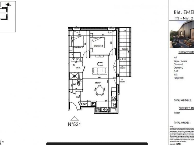 Vente appartement Chamalieres 238000€ - Photo 3