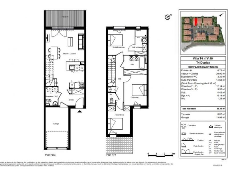 Vente maison / villa St orens de gameville 285900€ - Photo 9