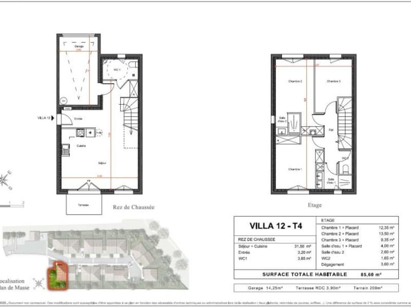 Vente maison / villa Toulouse 294000€ - Photo 9