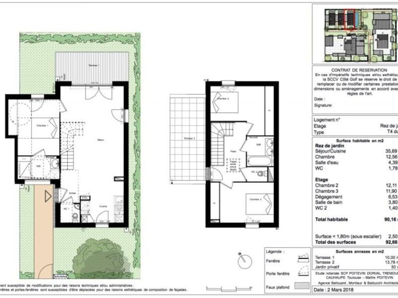 Vente maison / villa Toulouse 329500€ - Photo 9