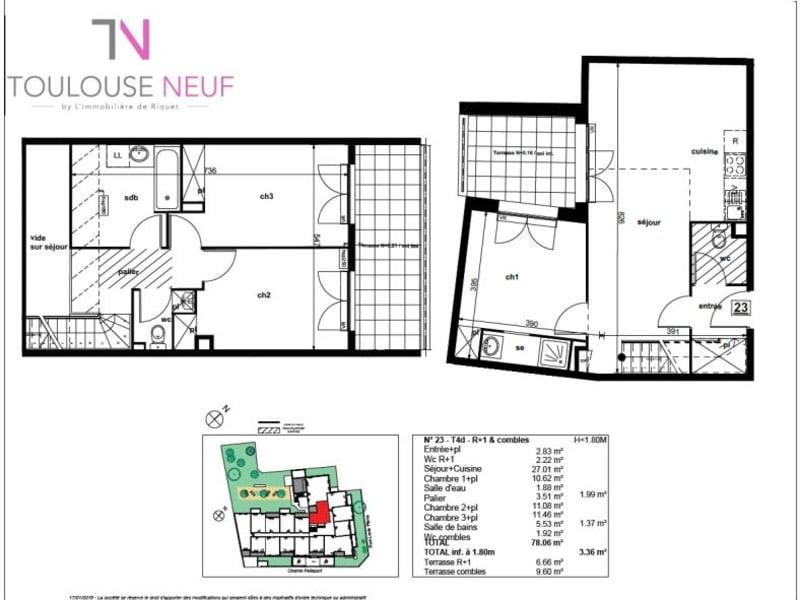 Vente appartement Toulouse 332000€ - Photo 10